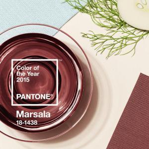 PANTONE 18-1438 Marsala