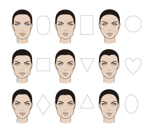formato do rosto combinar joias acessorios